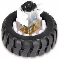 Vorschau: JOY-IT Mini Metallgetriebemotor mit Rad und Halter