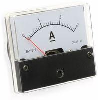 Vorschau: Drehspul-Einbauinstrument, 0...3 A-