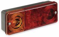 Vorschau: 3-Kammer-Leuchte, 210x83 mm