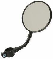 Vorschau: Fahrrad-Spiegel DUNLOP, schwarz, mit Reflektor