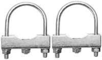 Vorschau: Stützrad- und Rundrohrhalter, 2 Stück, 48 mm