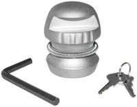 Vorschau: Anhänger-Diebstahlsicherung, 50 mm, Stahl, 2 Schlüssel