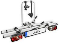 Vorschau: Heckträger EUFAB James, 2 Fahrräder