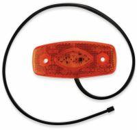 Vorschau: LED-Begrenzungsleuchte, LAS, 12V/24V, orange