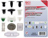 Vorschau: KFZ-Befestigungsclip-Set, BGS, 8129, für VW Fahrzeuge, 255-tlg
