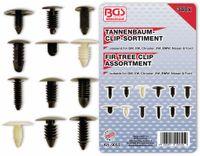 Vorschau: KFZ-Tannenbaumclip-Set, BGS, 9055, für GM, VW, Chrysler, BMW, Nissan, Ford, 340-tlg