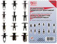 Vorschau: KFZ-Kunstoffspreizclip-Set, BGS, 9057, Mazda, Honda Ford, Nissan, VW, 240-tlg
