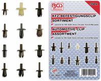 Vorschau: KFZ-Befestigungsclip-Set, BGS, 9045, VW, Audi, Volvo, Chrysler, Ford, Mercedes, 350-tlg