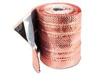 Vorschau: Dach-Kupferband mit 4 Längssicken, 5 m Rolle