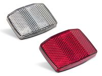 Vorschau: Reflektorenset mit Schraubbefestigung, rot, weiß