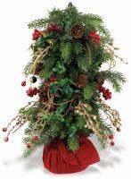 Vorschau: Weihnachtsbaum in rotem Sack