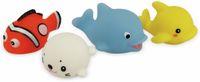 Vorschau: LED Fischfamilie 4er Set farbig