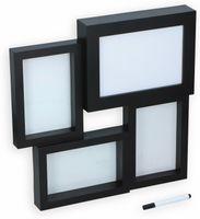 Vorschau: GRUNDIG 3-fach Bilderrahmen mit Leuchtkasten für Beschriftung