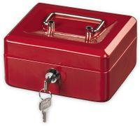 Vorschau: Geldkassette HAMA 50523 KC-150D, 150x120x80 mm, rot