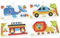 Vorschau: Bauklötze-Puzzle-Set, Blauwal, 4 in 1, 248-teilig.