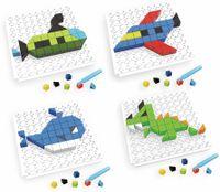 Vorschau: Bauklötze-Puzzle-Set, Drache, 4 in 1, 59-teilig.