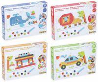 Vorschau: Bauklötze-Puzzle-Set, Auto, 4 in 1, 248-teilig.