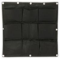 Vorschau: Pflanztasche, 72x72cm, Schwarz