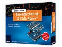Vorschau: Lernpaket Arduino Shield Blinkenlight + Platine