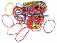 Vorschau: Gummibänder, Neonfarben, ca. 100 g