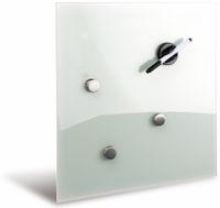 Vorschau: Glasmagnetboard HAMA, 40x40 cm, weiß