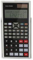 Vorschau: Wissenschaftlicher Taschenrechner D1-5, Dual-Power, silber