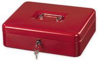 Vorschau: Geldkassette HAMA 50529 KC-300ND, 300x240x90 mm, rot