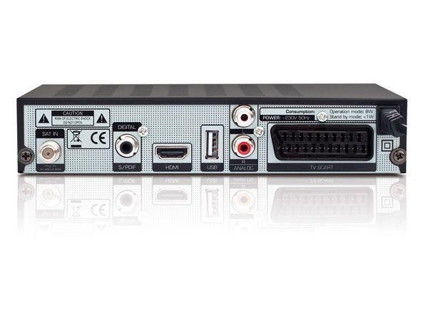 SAT HDTV-Receiver mit Mediaplayer OPTICUM HD S60, B-Ware - Produktbild 2