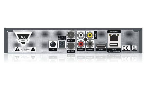 DVB-C HDTV-Receiver OPTICUM HD AX-ODiN E2, B-Ware - Produktbild 3