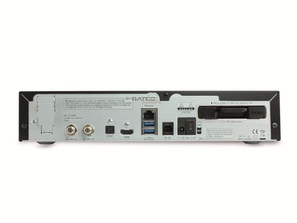 DVB-S HDTV-Receiver VU+ SOLO 4K, Linux, schwarz, B-Ware - Produktbild 2