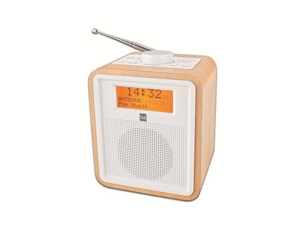 DAB+/UKW Radiowecker mit 2 einstellbaren Weckzeiten DUAL DAB CR 27, B-Ware