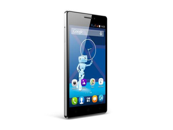 Dual-SIM Smartphone HAIER HaierPhone Voyage V3, schwarz, B-Ware - Produktbild 1