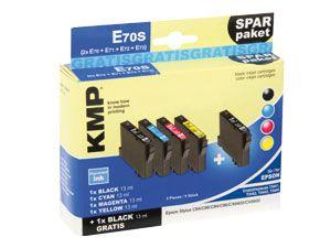 Tinten-Set KMP, kompatibel mit EPSON T0441...T0444