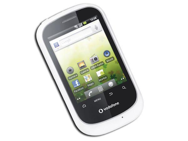 VODAFONE Android Smartphone VF 858 CallYa, weiß