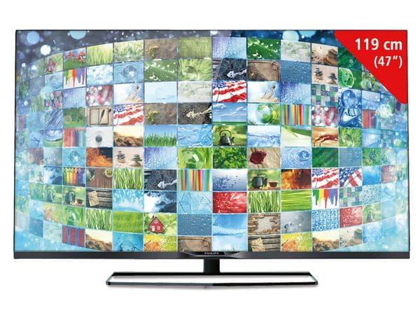 FullHD LED-TV PHILIPS 47 PFK 5199/12 Ambilight