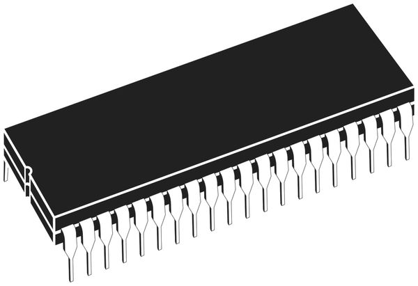Microcontroller ATMEL ATmega644-20PU