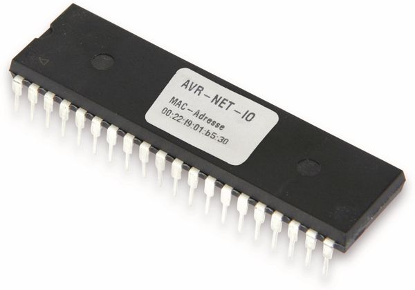 Hauptprozessor für AVR-NET-IO, programmiert, ATMEL ATmega32-16PU - Produktbild 1
