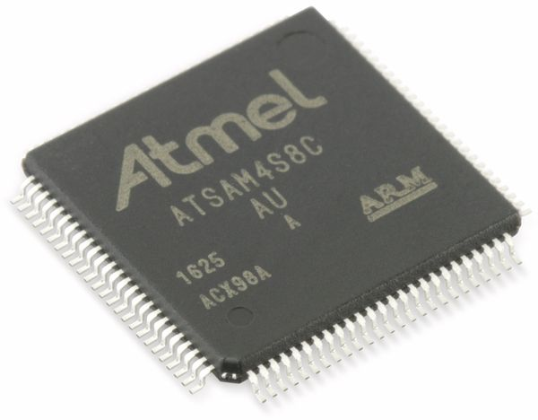 Microcontroller ATMEL ATSAM4S8CA-AU - Produktbild 1