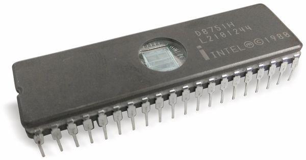 Nostalgie-Microcontroller INTEL D8751H