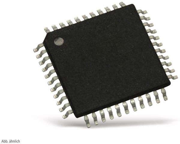 Microcontroller ATMEGA128P-AU, ATMEL, TQFP 44