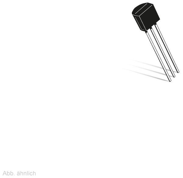 EEPROM, Maxim, DS24B33+, TO-92-3, 4 kbit, -40°C bis +85°C