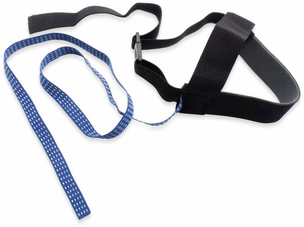 QUADRIOS, 1903EC040, ESD-Dauerfersenband, Schwarz / Blau, 1 ST - Produktbild 5