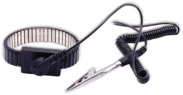 QUADRIOS, 1903EC038, ESD Metallketten-Armband-Set 10 mm/1,8 m