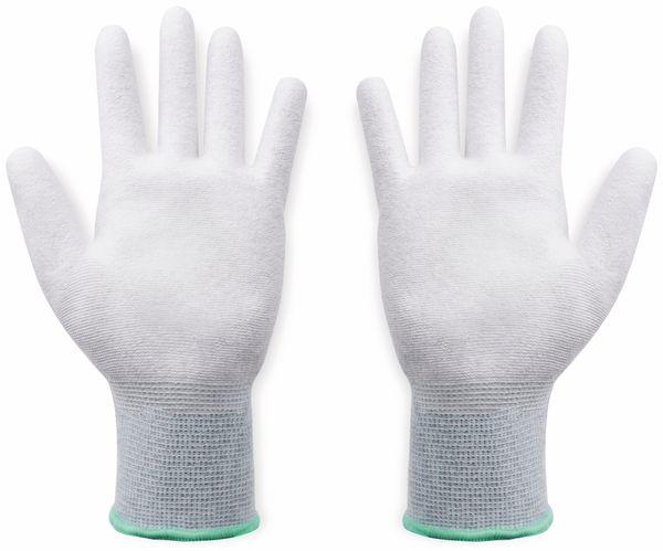 QUADRIOS, 1903EC065, ESD Handschuhe mit Beschichtung S