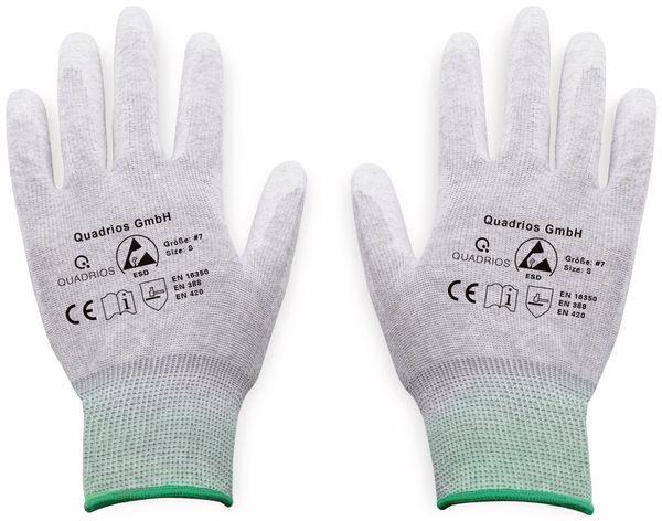 QUADRIOS, 1903EC065, ESD Handschuhe mit Beschichtung S - Produktbild 2