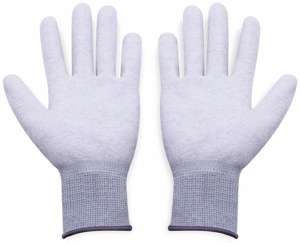 QUADRIOS, 1903EC066, ESD Handschuhe mit Beschichtung M