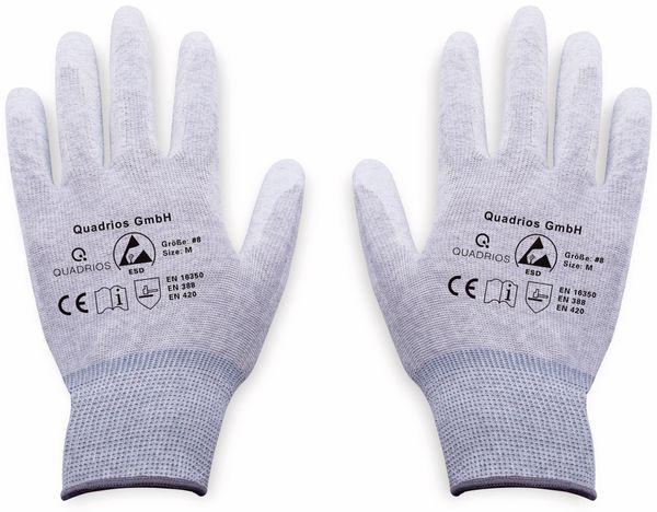 QUADRIOS, 1903EC066, ESD Handschuhe mit Beschichtung M - Produktbild 2