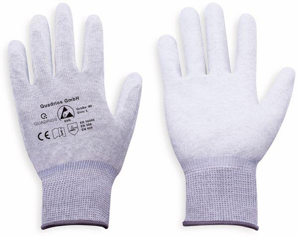 QUADRIOS, 1903EC067, ESD Handschuhe mit Beschichtung L - Produktbild 3