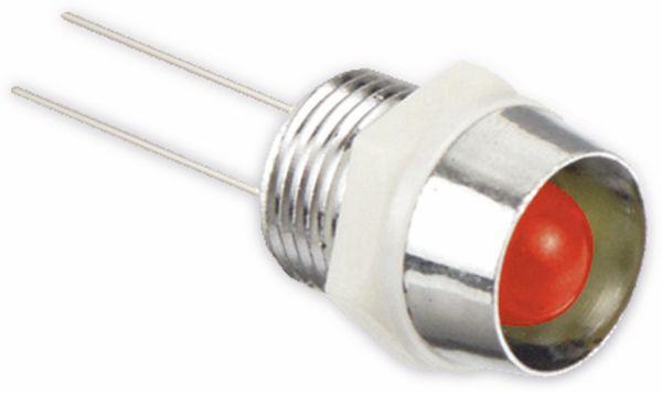 LED-Signalleuchte, Kontrollleuchte, 2,1 V-, rot