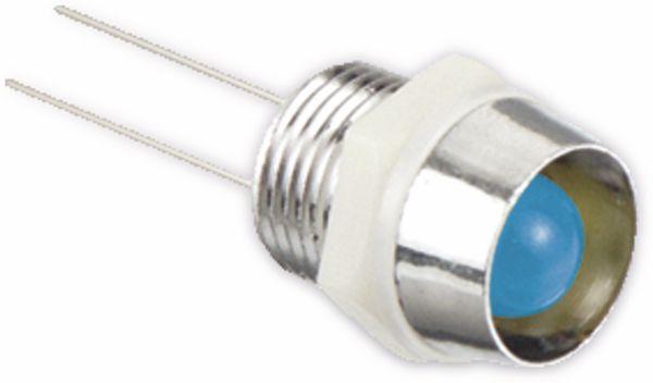 LED-Signalleuchte, Kontrollleuchte, 2,9 V-, blau